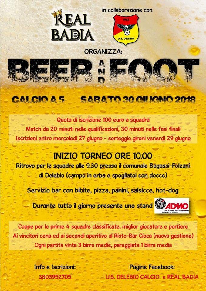 Birre Medie Calendario.Beer And Foot Delebio
