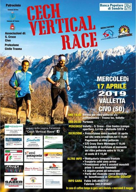 Cech Vertical Race 2019, le classifiche