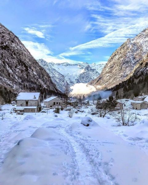 Val di Mello Winter Trail