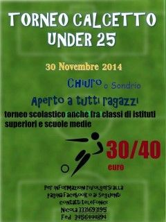 Torneo di calcetto under 25