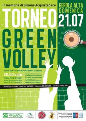 Green Volley e Green Run a Gerola Alta
