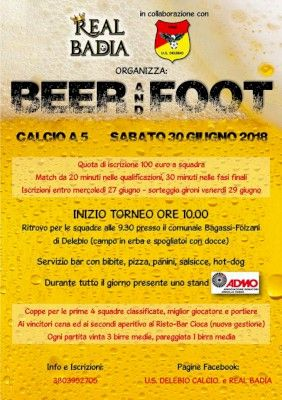 Beer and Foot