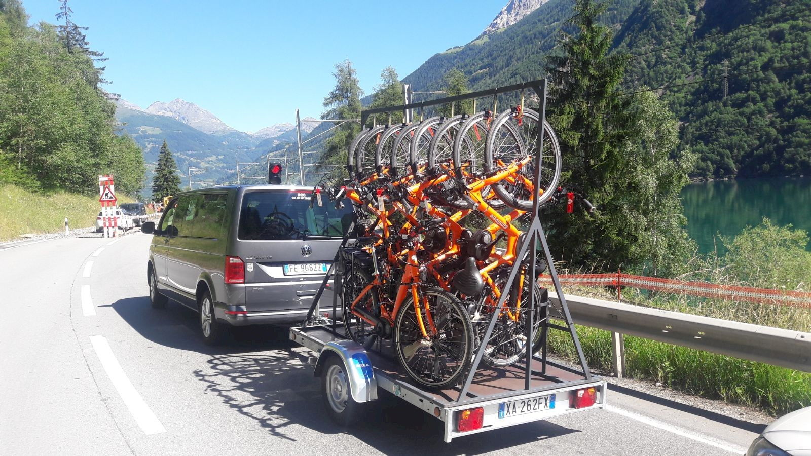 Bike Shuttle in Valtellina