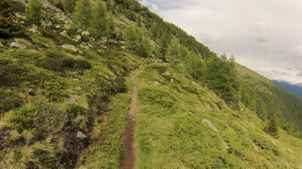 Col d'Anzana downhill - Five Crazy Down