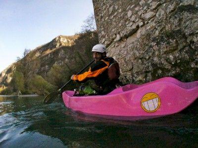 Kayak Fun Into the Wild